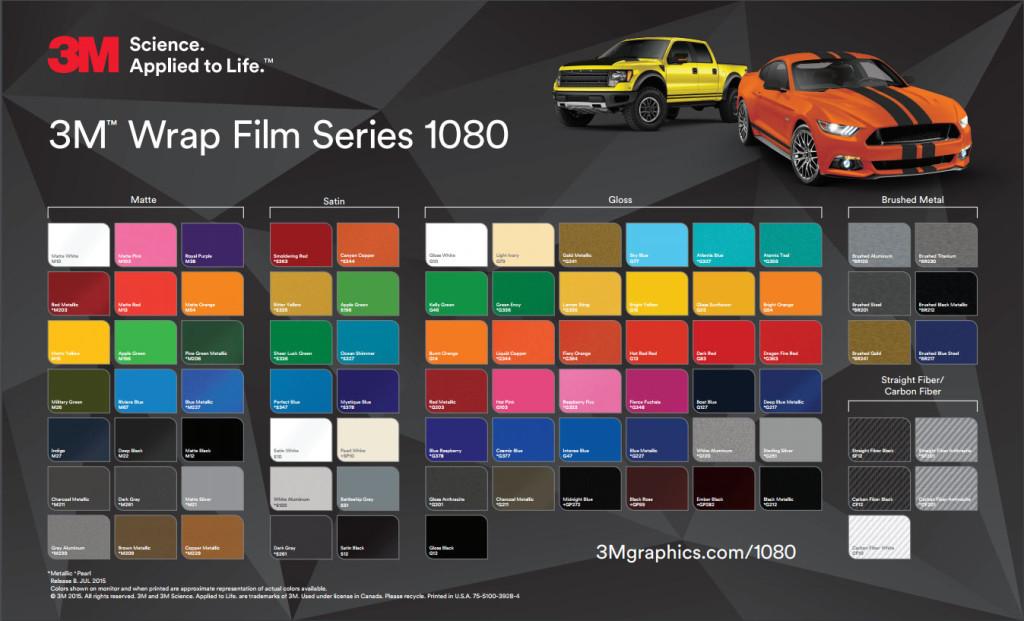 3m 1080i Car Wrap Vinyl Wrapit Solutions