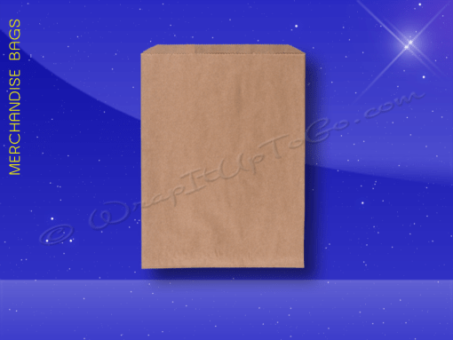 Merchandise-Bags—Natural-Kraft—4×6