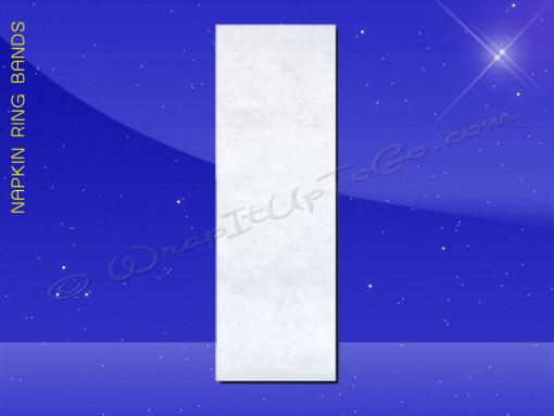 Napkin-Ring-Band—Fischer-Paper—4-NAP-WHITE