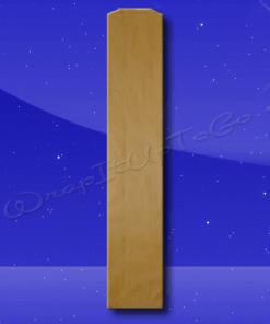 Bread Bags – 4-1/2 x 2-1/2 x 24 – Natural Kraft (brown) – Plain (no print) 1
