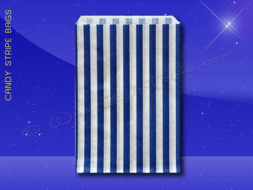 Candy Stripe Bags 10 x 14 – Blue Stripes 1