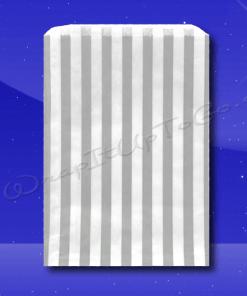 Candy Stripe Bags 7 x 9 – Grey Stripes 1