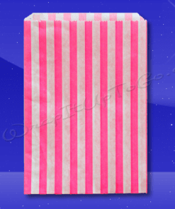 Candy Stripe Bags 10 x 14 – Pink Stripes 1