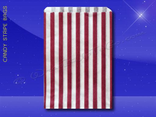 Candy Stripe Bags 7 x 9 – Purple Stripes 1