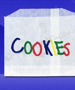 Cookie Bags – 4-7/8 x 4 – Printed Cookies 1