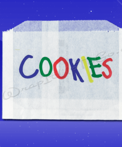 Cookie Bags – 5-1/2 x 1 x 4 – Printed Cookies 1