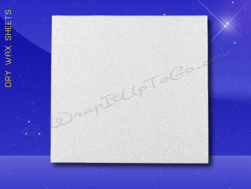 Dry Wax Sheets – 12 x 12 – Plain 1