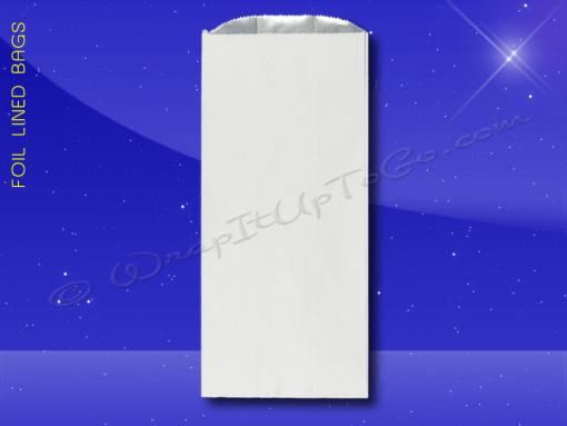 Foil Lined Bags – 1/2 Gallon – 6-1/2 x 4-3/8 x 15 – Plain 1