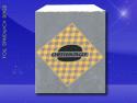 Foil Jumbo Sandwich Bags – 6-1/2 x 1-1/2 x 7-3/4 – Printed Cheeseburger 1