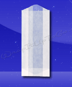 Glassine Bags – 2-1/2 x 1-1/4 x 6-1/4 – 1/4 Lb
