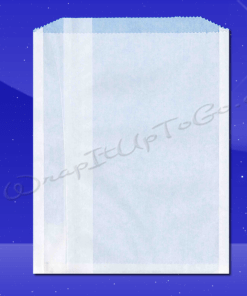 Grease Resistant Sandwich Bags – 7 x 3/4 x 9 – Plain 1