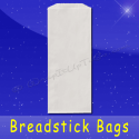 Fischer Paper Products 1060-PL Grease Resistant Breadstick Bags 5 x 3 x 12 Plain