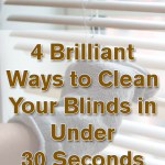 4 Brilliant Ways To Clean Your Blinds In Under 30 Seconds Wrapped In Rust