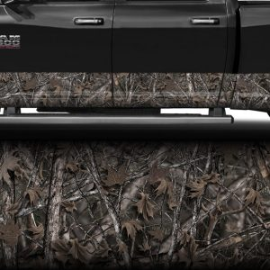 Woodlands Camo Rocker Panel Wrap