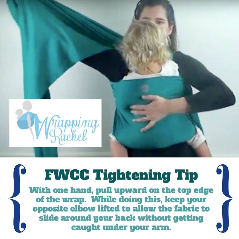 Tip for tightening your Stretchy Wrap