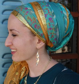 wrapunzel sari scarf andrea grinberg