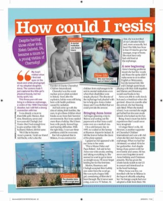 Helen's story (Chernobyl feature) - Best magazine