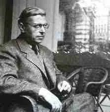 Sartre's famous quote about writing