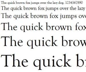 Typesetting overview