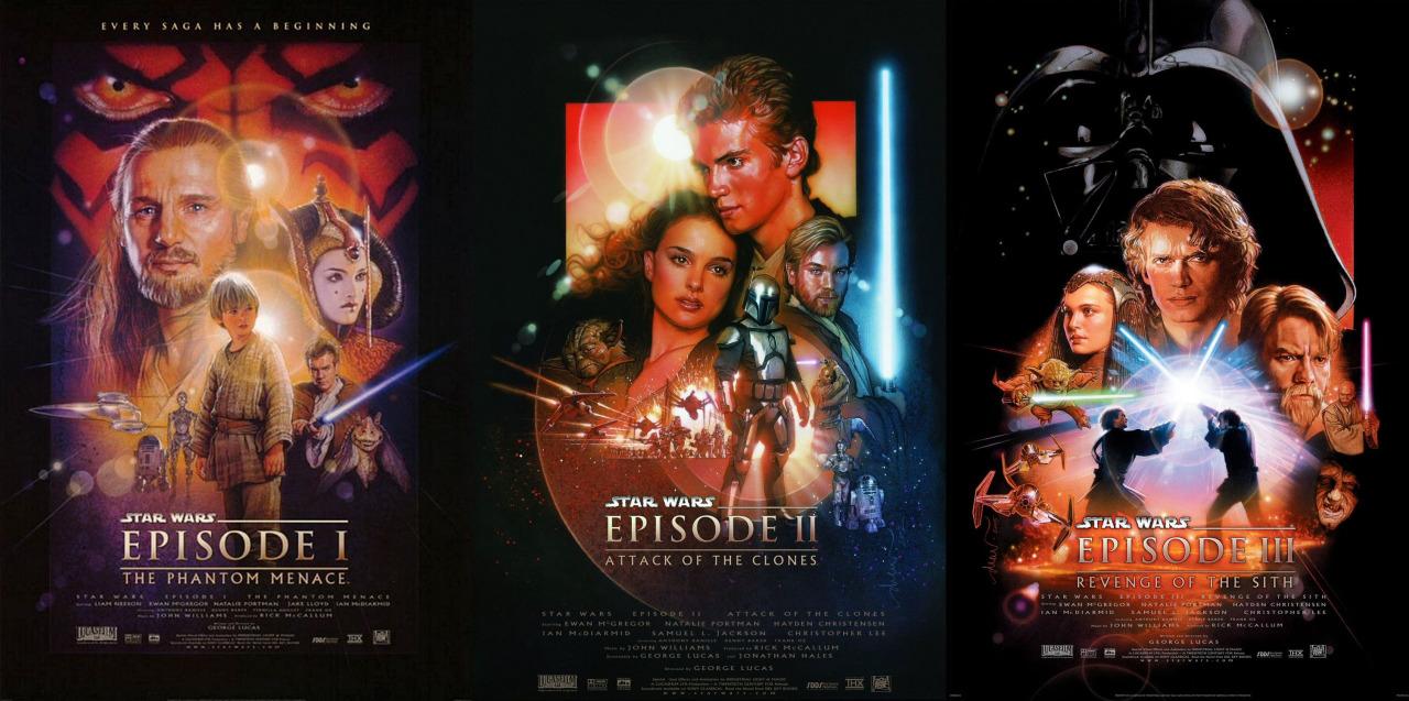 prequel posters