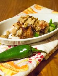 Peanut Butter Bacon Jalapeños https://wraysofsunshine.com/2014/07/22/menu-peanut-butter-bacon-jalapenos/