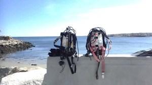 New wall at Back Beach