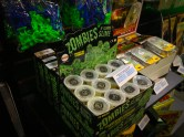 Lots of great zombie merch.