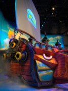 Skylanders had a pretty awesome booth, but tucked way back in the corner without much foot traffic.
