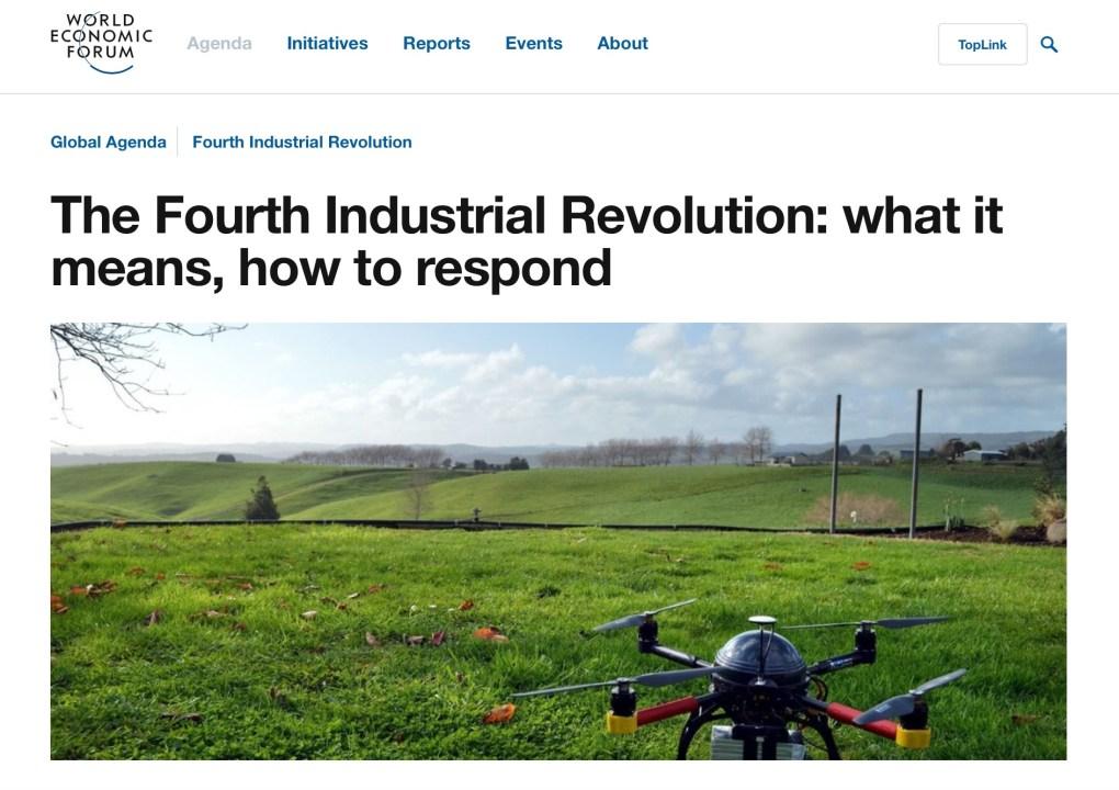 Four Industrial Revolution