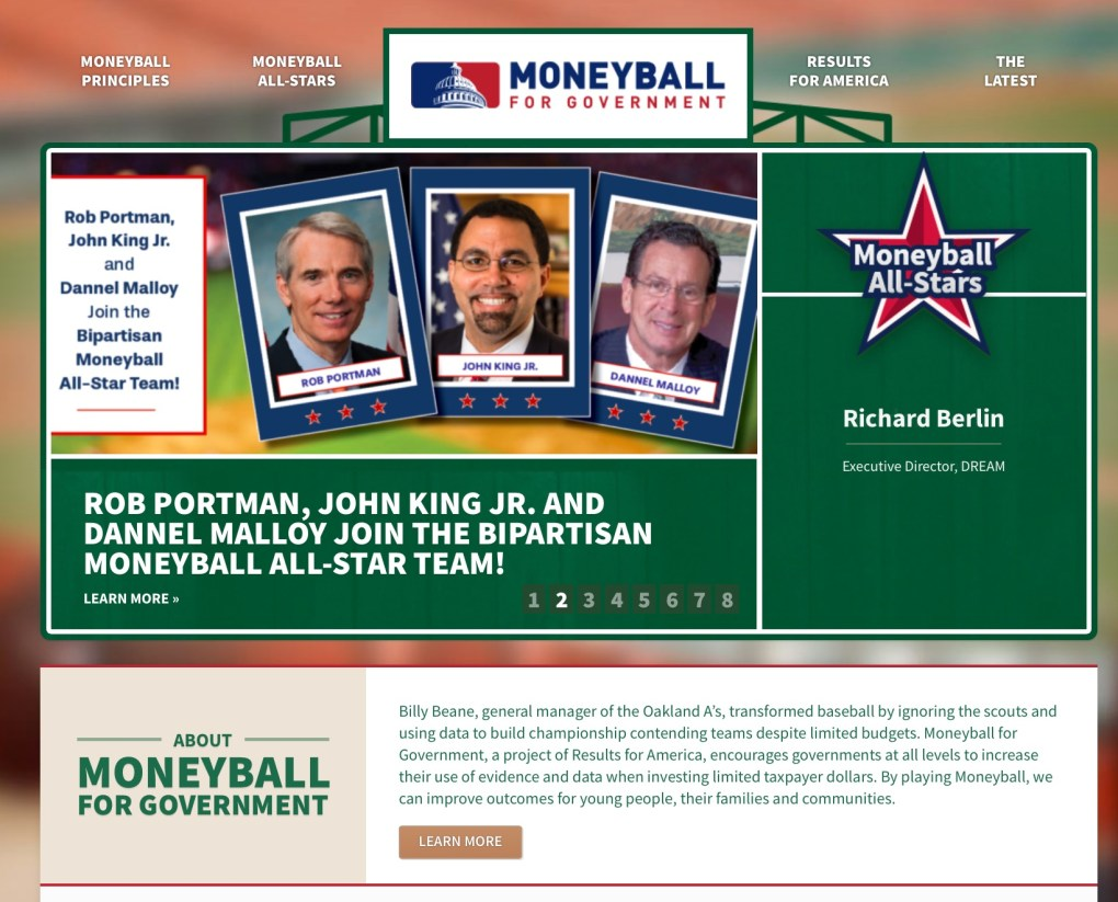 Moneyball for Government