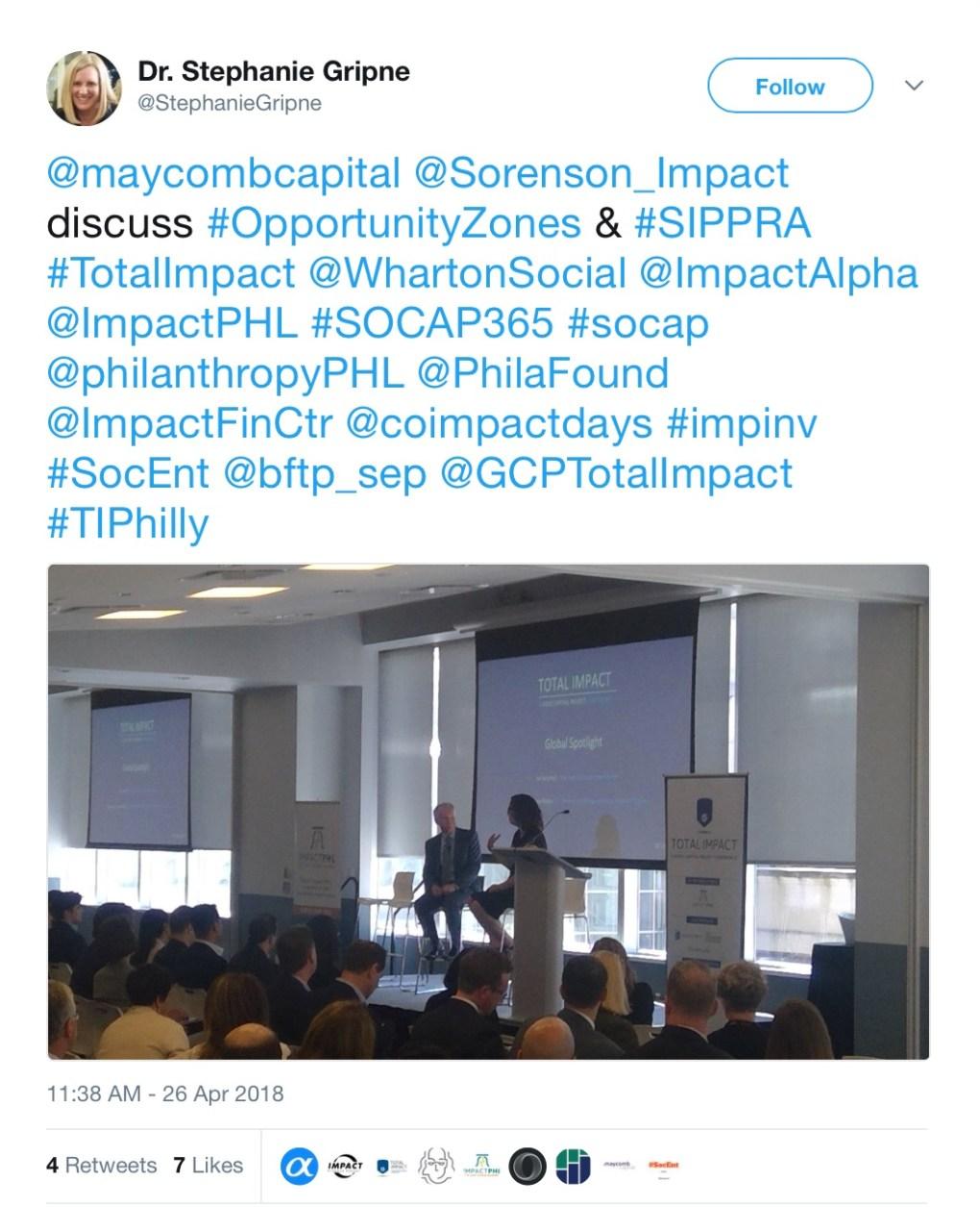 Total Impact Conference Philadelphia April 2018