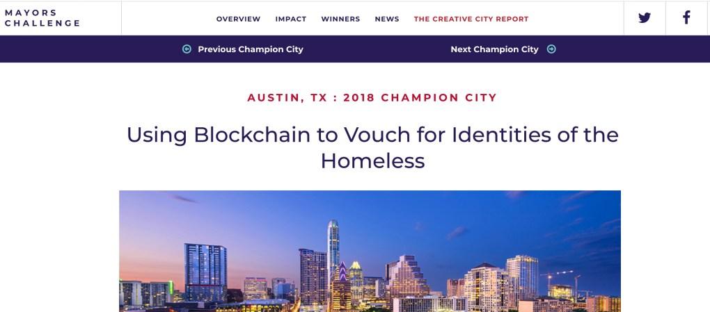 Austin Blockchain Bloomberg
