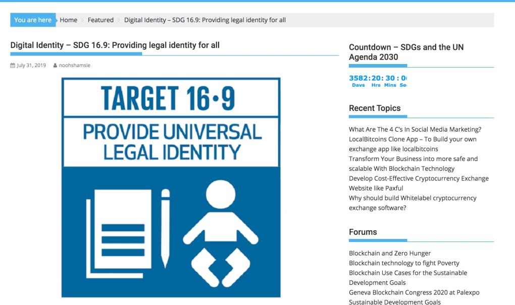 16.9 digital identity