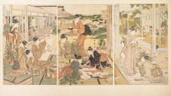 Utamaro: The Four Elegant Accomplishments