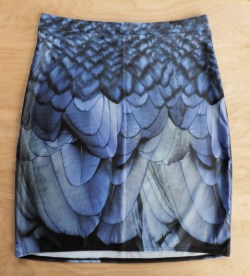 Raven skirt: colors are really good. The fabric is shinier than the website preview led me to believe.