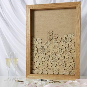2. Wedding Tree shadow box