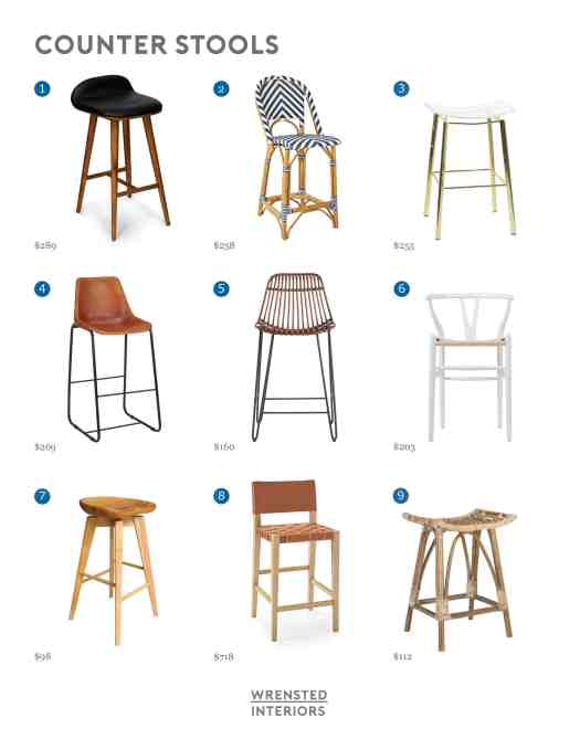 Counter Stool Round Up