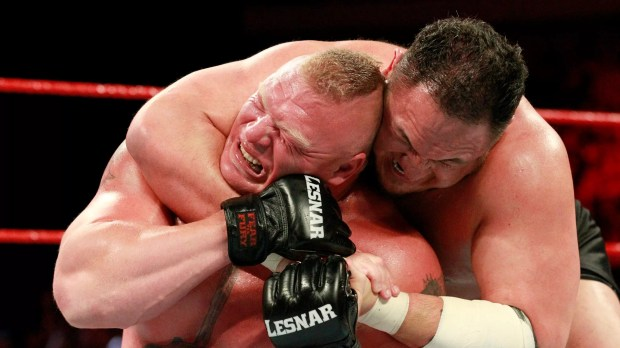 Joe vs Lesnar