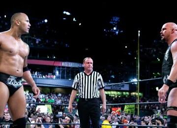Rock vs Austin III Wrestlemania XIX