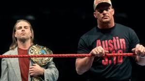 Attitude Era Stone Cold Shawn Michaels WWF title