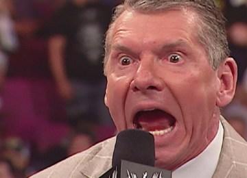 Vince McMahon furioso no RAW