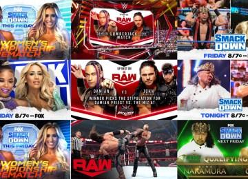 Revanches na AEW e WWE