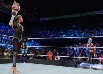 As mulheres dominaram o 1º dia do draft da WWE no Smackdown
