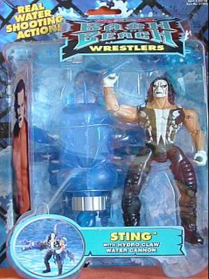 Someone Bought This These WCW Figures And Ring Are All