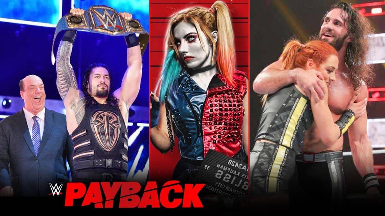 फाइनल WWE Payback 2020 कार्ड - मैच, स्टार्ट टाइम, Prediction
