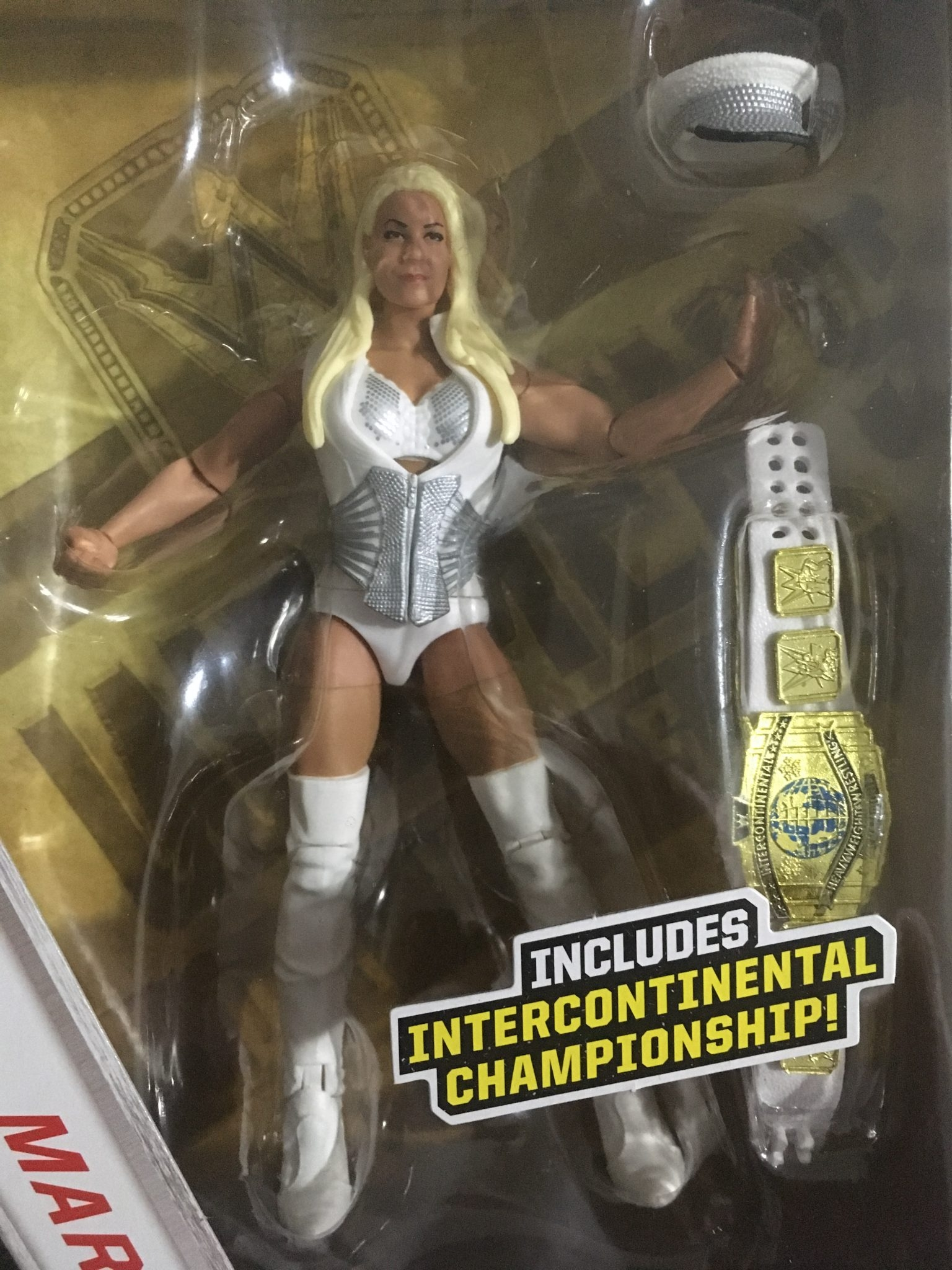 New WWE Mattel Elite MARYSE with Intercontinental Championship Walgreens Exclus