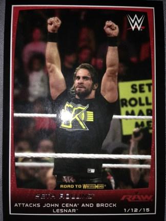 Seth Rollins - Topps 2015 #79