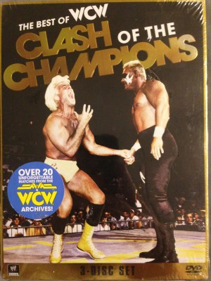 The Best of WCW Clash of the Champions 3 Disc Set
