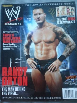 WWE Magazine August 2013 - Randy Orton