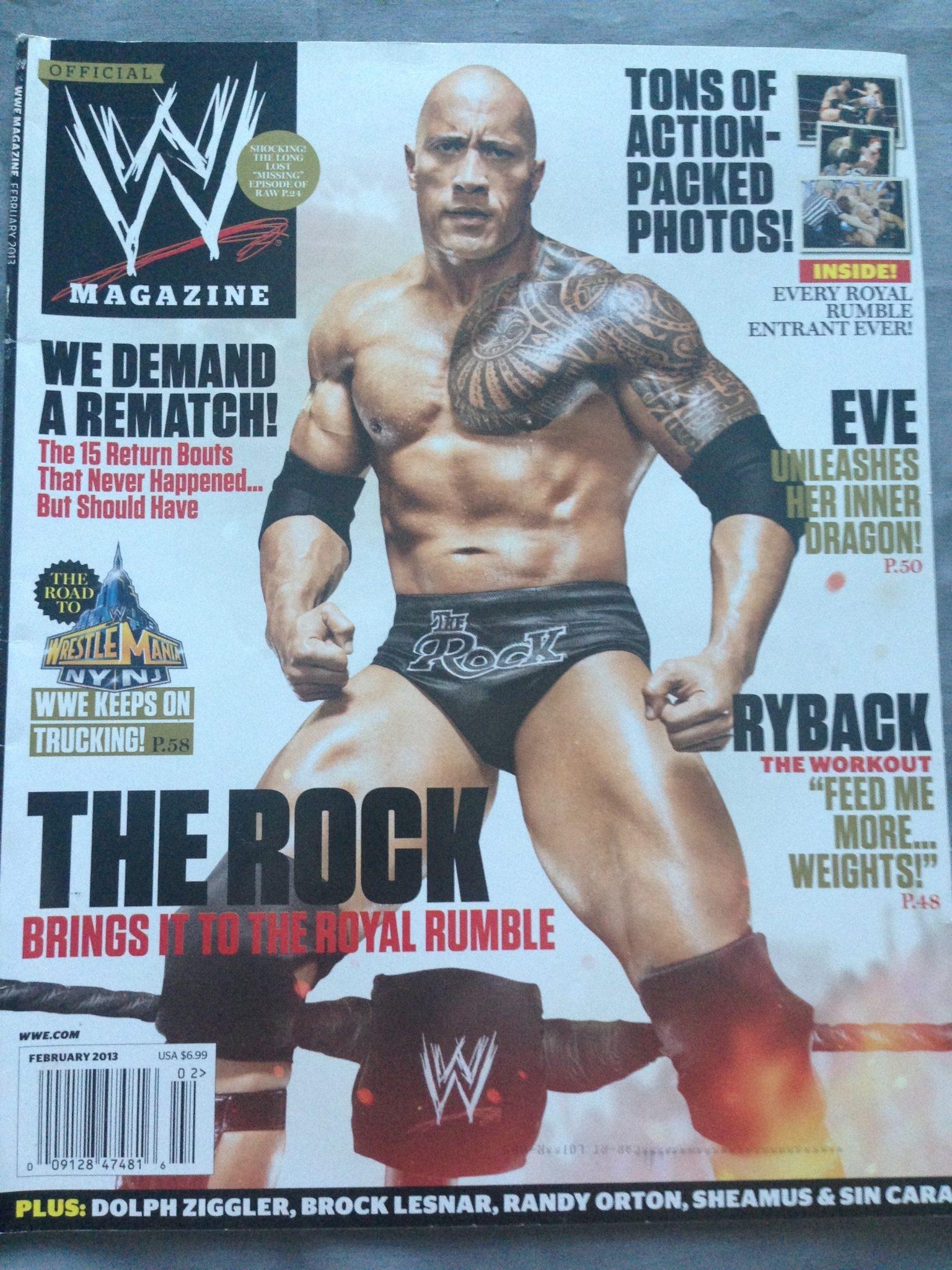 WWE MAGAZINE FEBRUARY 2014 EPUB